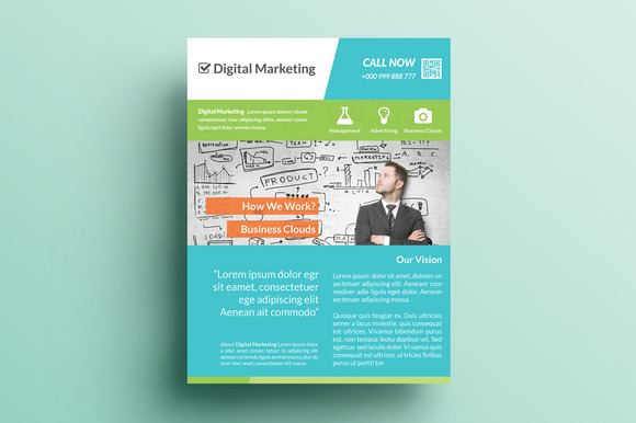 Creative Marketing Flyer V5
