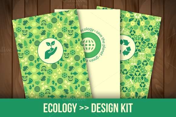 Eco Icons Patterns