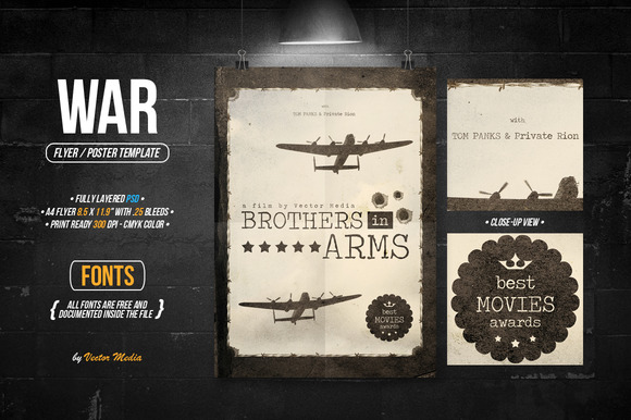 War Flyer Poster