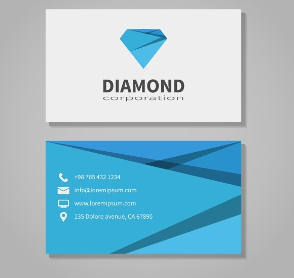 Diamond Corporation Business Card
