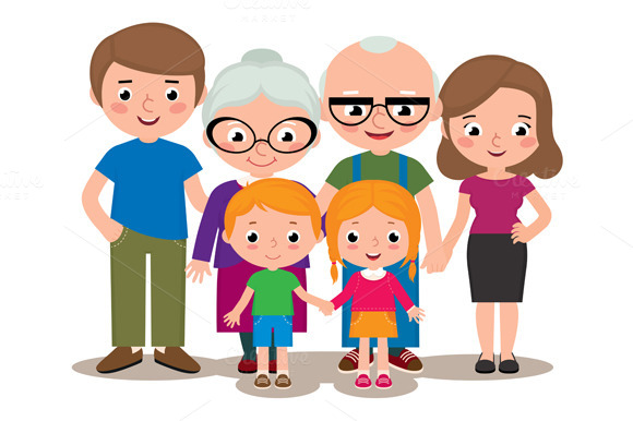 Family Parents Grandparents Children