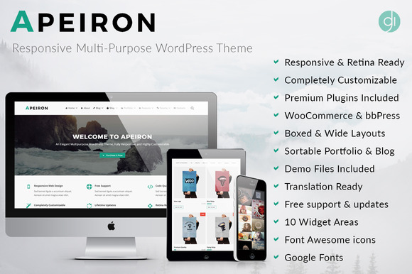 Apeiron Responsive Multi-Purpose