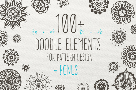 Doodle Elements 8 Bonus Patterns