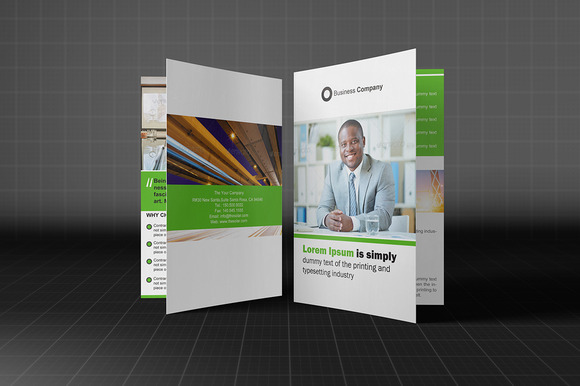 Bifold Brochure Template Vol 03