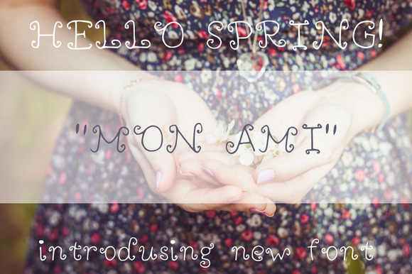 Mon Ami Handdrawn Font