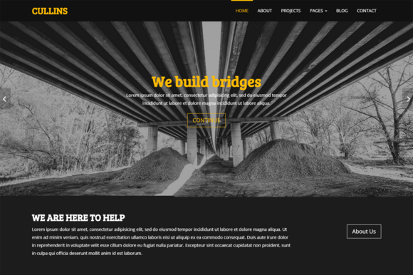 Cullins Construction Template