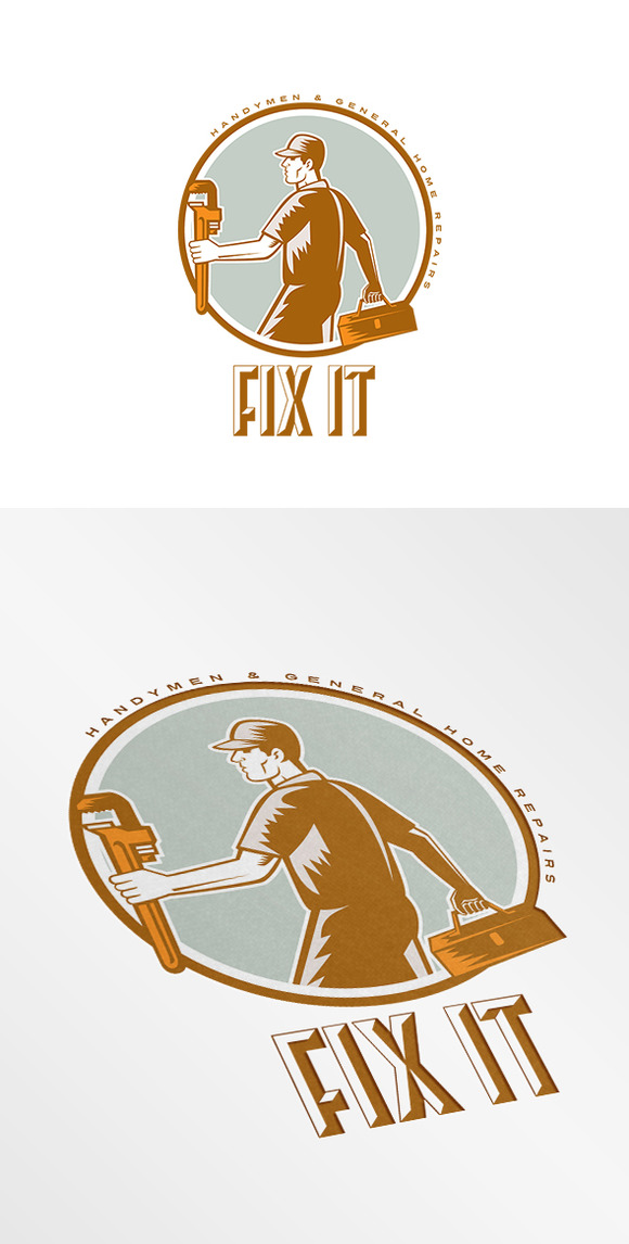 Fix It Handymen Logo