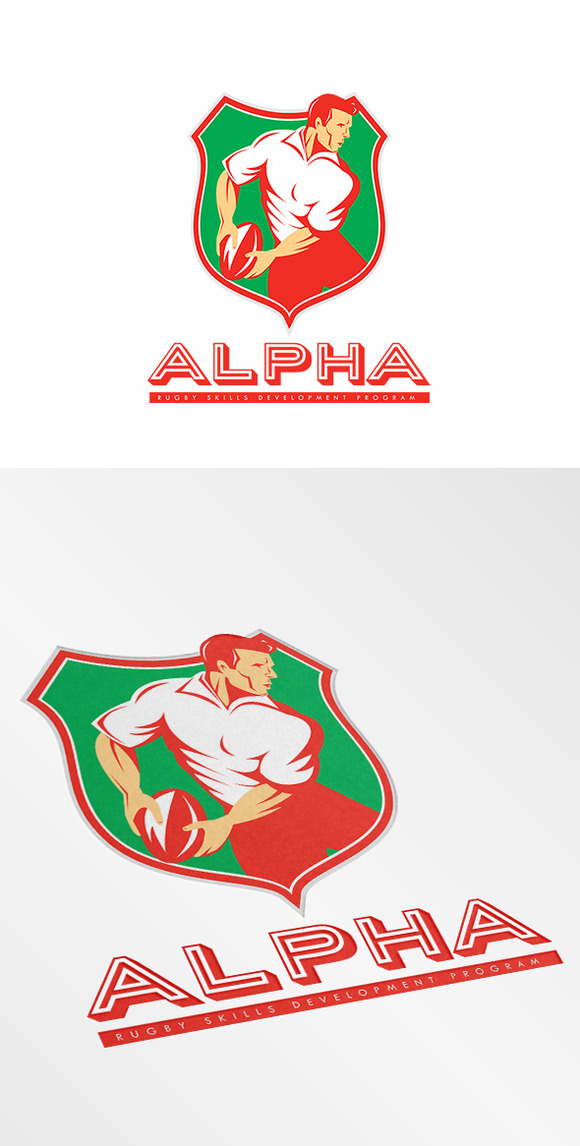 Alpha Rugby Skills Development Logo