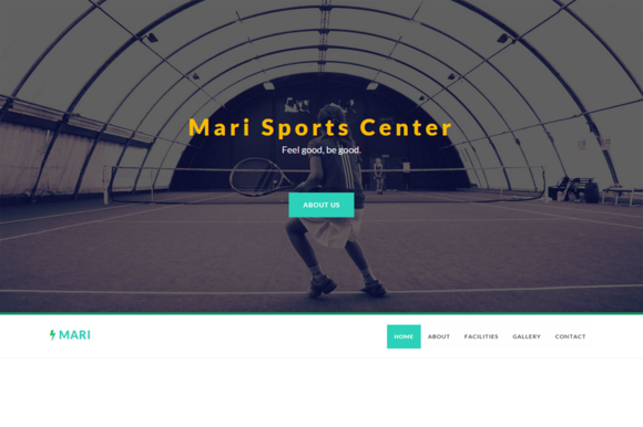 Mari Sports Center Template