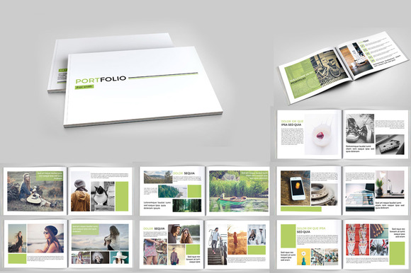 InDesign Portfolio Brochure- 20pages