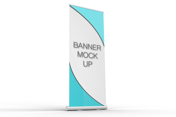 Pull-Up Banner Stand Mock-Up