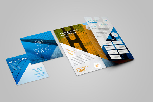 Original New Format Trifold Brochure