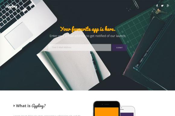 Appling Landing Page