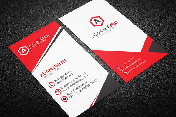 Creative Corporate Business Card 58