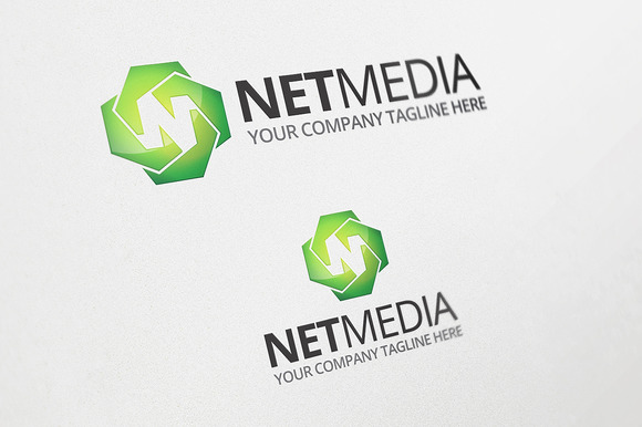 Net Media Logo Template