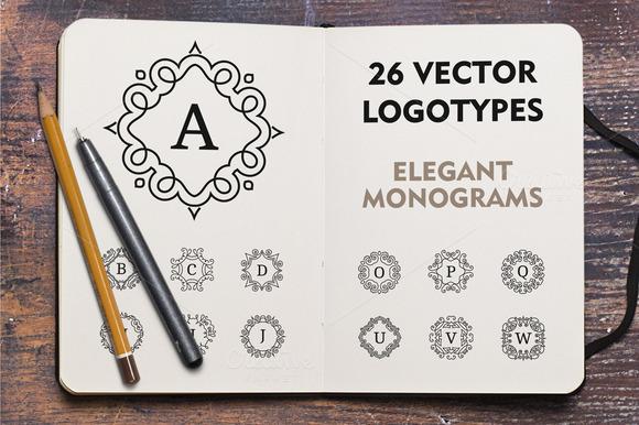 Vector Monogram Logotypes
