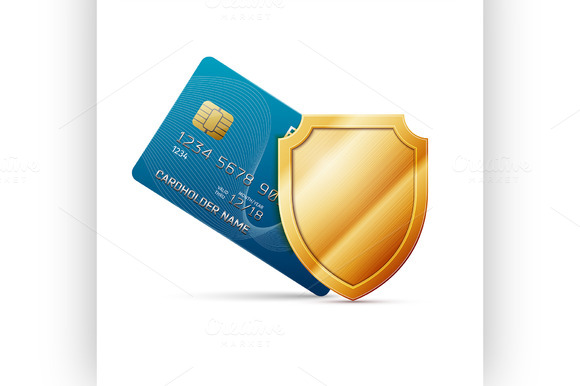 Credit Card With Shield