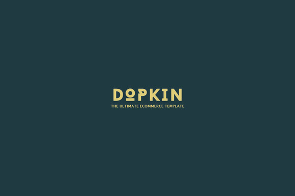 Dopkin E-commerce PSD Templae