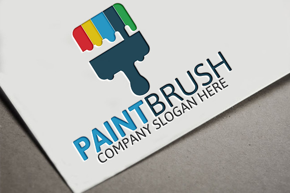 Paint Brush Logo