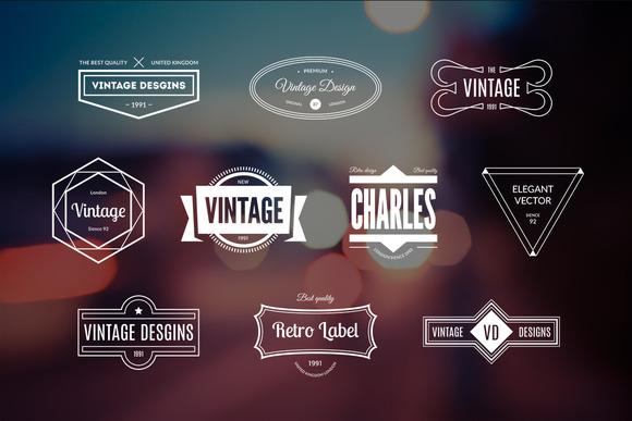 10 Retro Logos Vol 12