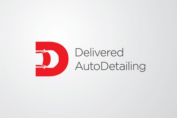 Delivered AutoDetailing Vector Log