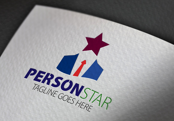 Person Star Logo