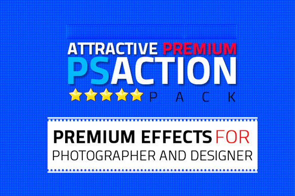 Premium Attractive Photoshop Action