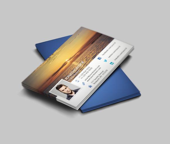 FaceBook Timeline Style BusinessCard