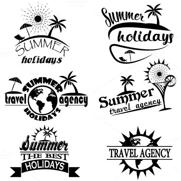 Vintage Summer Typography Design