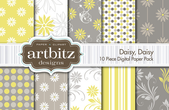 Daisy Daisy Digital Paper
