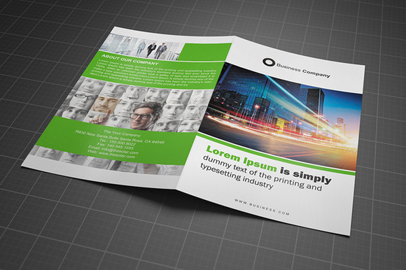 Bifold Brochure Template Vol 04