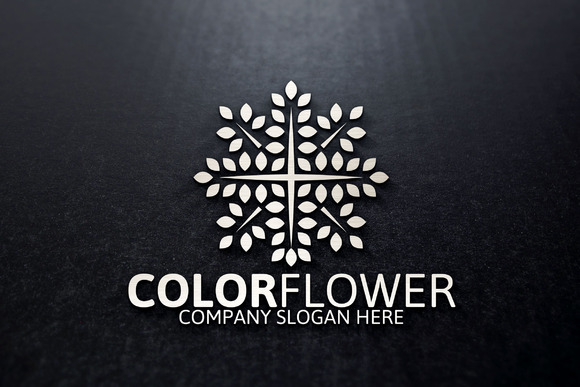 Color Flower Logo