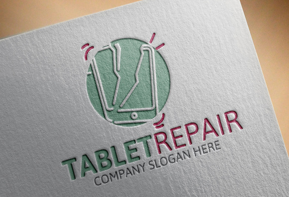 Tablet Repair Logo