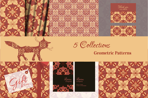 #8 Seamless Geometric Patterns