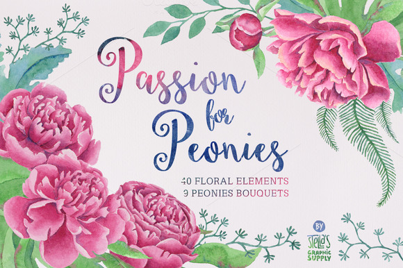 Passion For Peonies 20% OFF