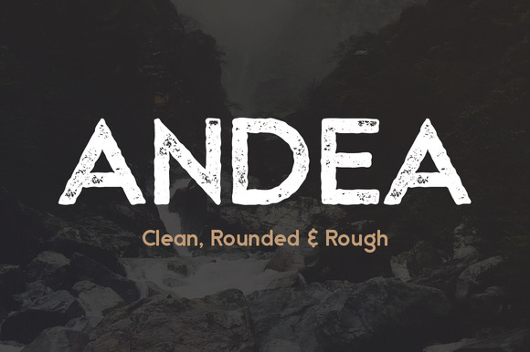Andea Geometric Sans Serif Font
