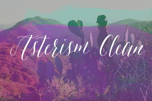 Asterism Clean