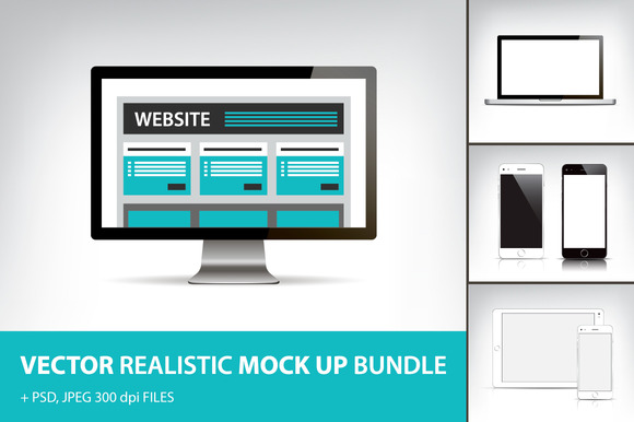Electronic Devices Mock Up Bundle