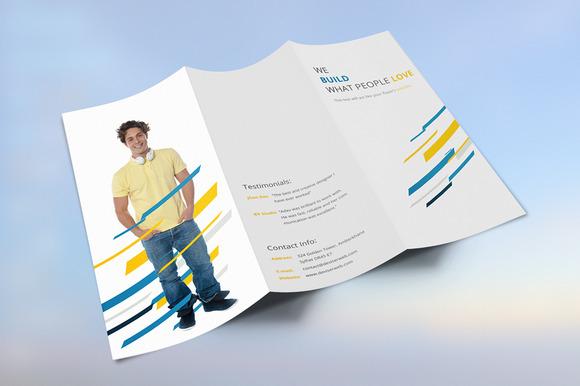 Corporate Agency Tri-fold Brochure