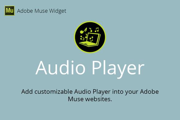 Audio Player Adobe Muse Widget