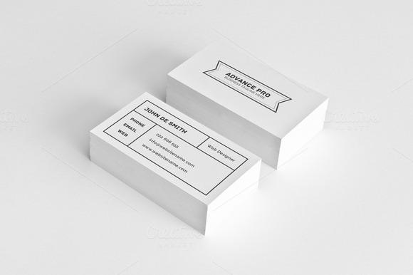Simple Individual Business Card 59