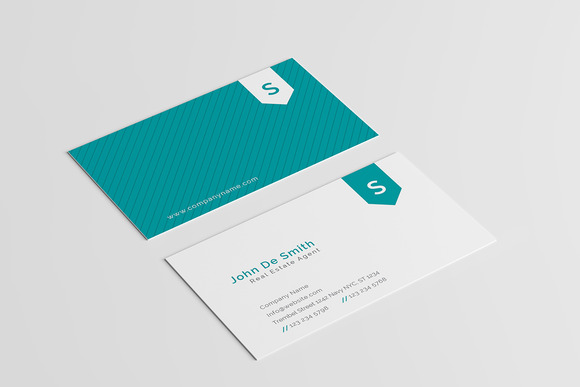 Minimal Pattern Business Card V2