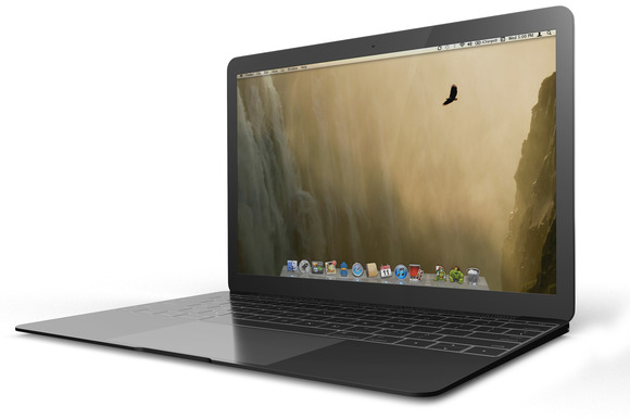 The New MacBook MockUp 2015