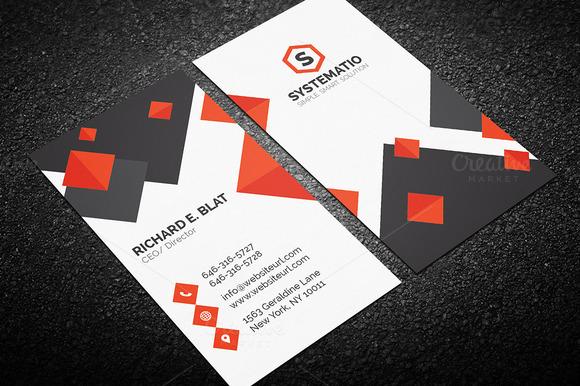 Creative Corporate Business Card 60