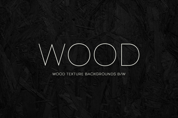 Wood Texture Backgrounds B W