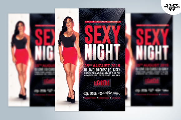 SEXY NIGHT Flyer Template