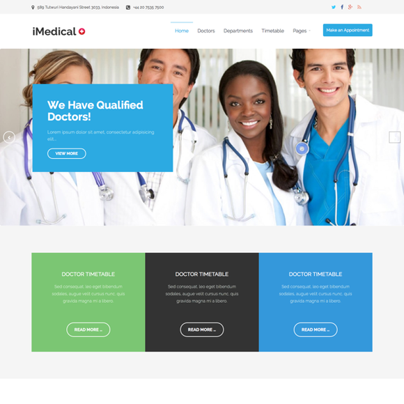 IMedical WP Medical Hospital Theme