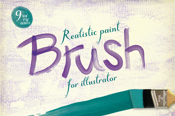 Paint Brush For Illustrator