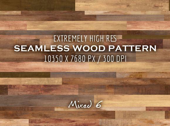 Extremely HR Seamless Wood Pattern P
