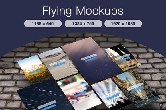 Flying Mockups